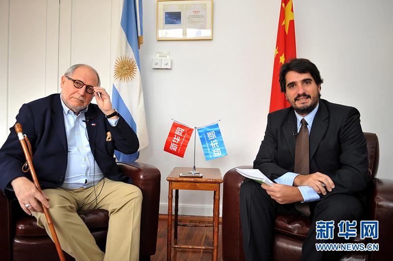 阿根廷驻华大使:宣传中国威胁论是无稽之谈!