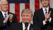 特朗普首次国会演讲谈两党合作