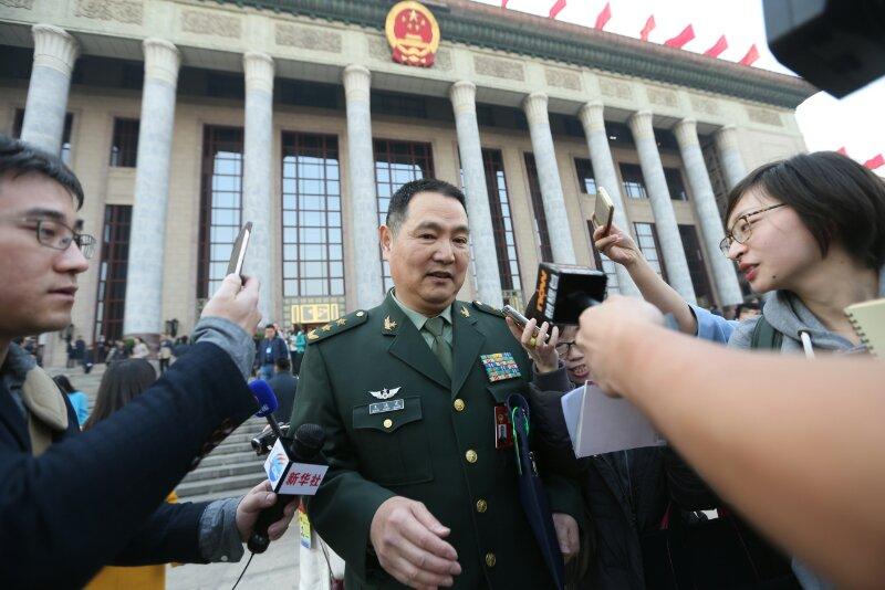 王洪光中将:美在台部署萨德之日 就是我们解放台湾之时