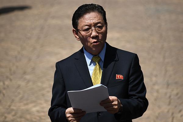 快讯:马来西亚政府决定驱逐朝鲜驻马来西亚大使