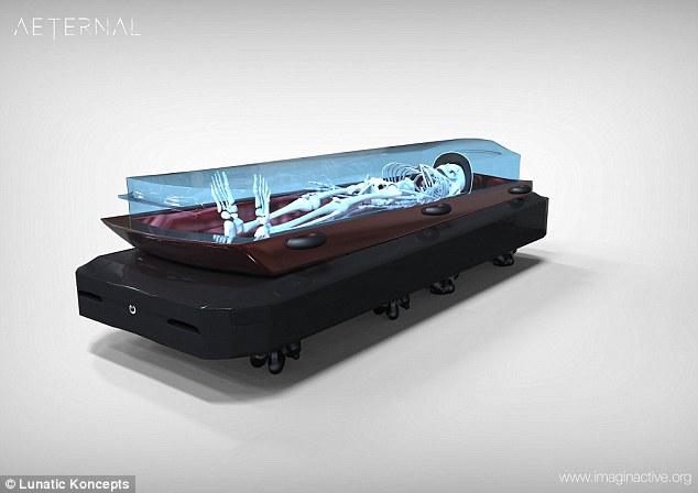 印度科技公司研发无人驾驶透明灵车