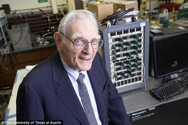 锂电池发明者发明新型电池 -20℃仍可运作