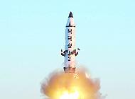 朝鲜发射4枚导弹落日本海