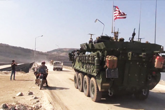 美军装甲部队被曝进入叙利亚