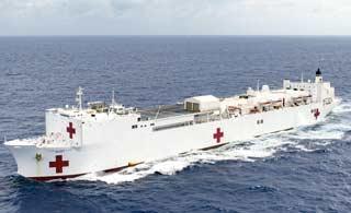 美国海军大白船比和平方舟如何
