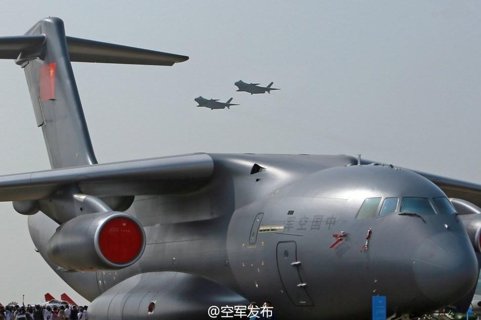 外媒:中国壮大战略空运实力 为扩张势力做准备