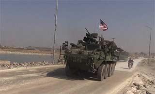 美陆军部队正式开进叙利亚