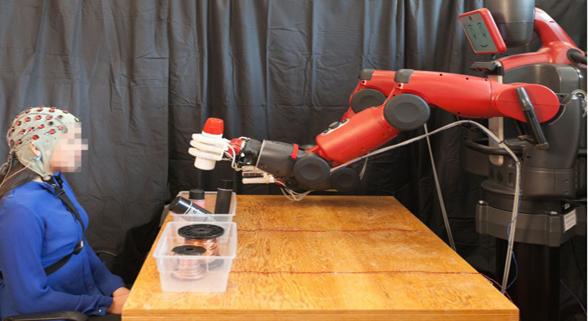 """这个MIT机器人厉害了 它能够""""读懂""""你的想法"""