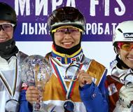 中国名将徐梦桃获本赛季世界杯女子组总冠军