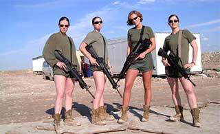 美陆战队员泄露大量女兵裸照