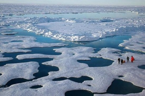 科学家称即使控制气候变化目标达到北极夏季仍无冰