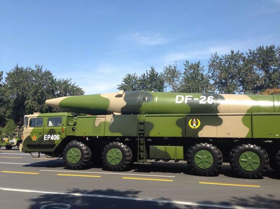 评论:中国战略武器必须对准萨德在韩的部署地