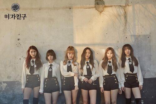 韩女团GFRIEND推迷你4辑 为成长呐喊