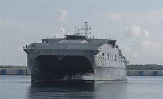 美电磁炮试验舰同款访斯里兰卡