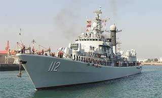 海军第24批护航编队凯旋