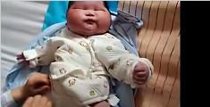 13.4斤!产妇生下超重宝宝