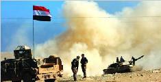 伊拉克政府军收复摩苏尔市政府机构建筑群
