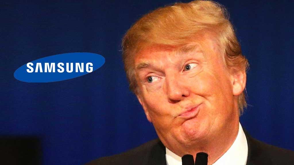 特朗普推制造业回归美国 三星也加入了