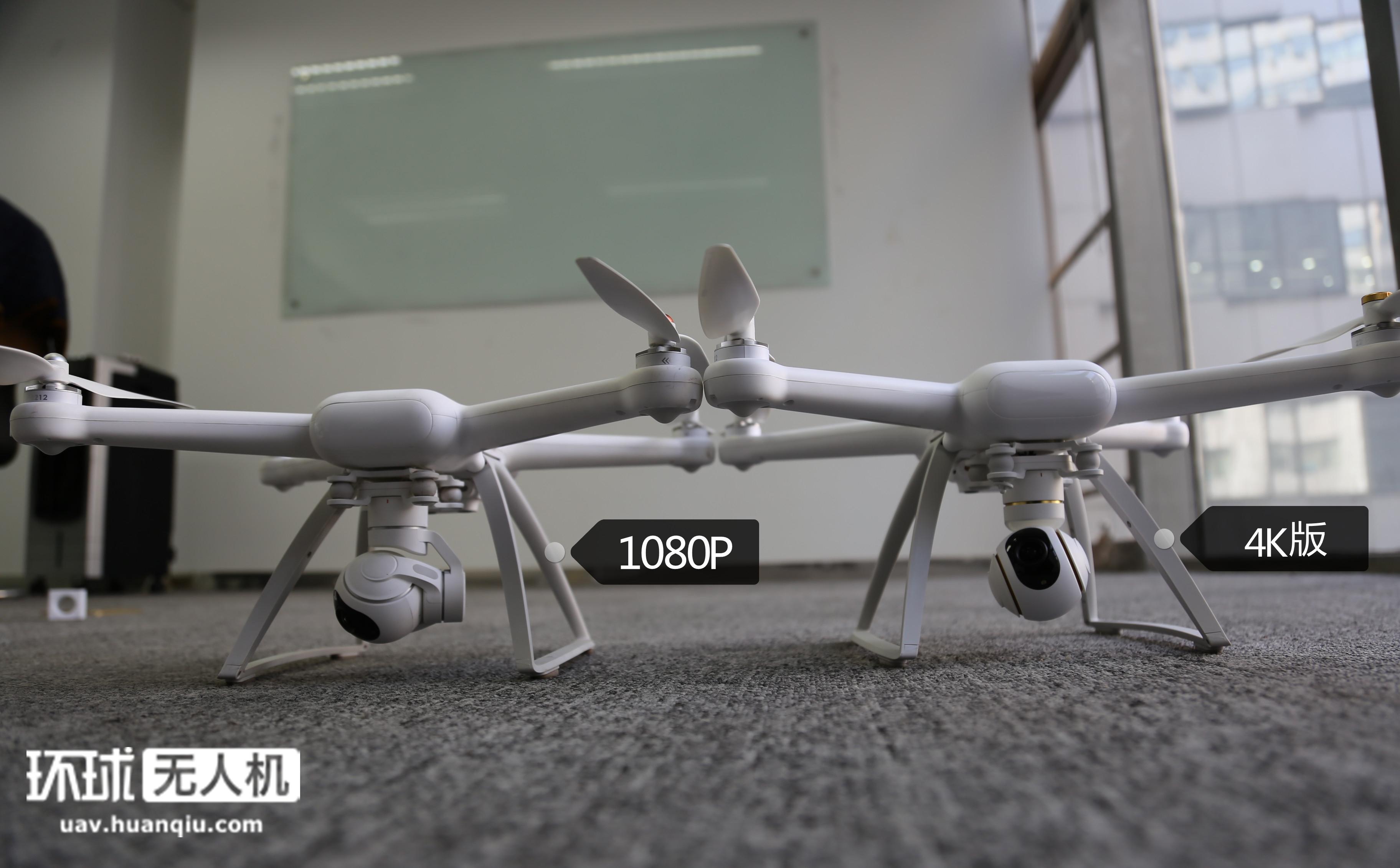 小米无人机4K版开箱与把玩 与1080P版相比都有啥不同?