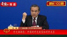外交部部长:中国外交政策和对外关系