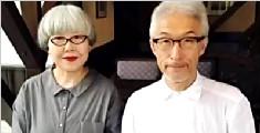 日本夫妻结婚37年每天都穿情侣装:感受下画风