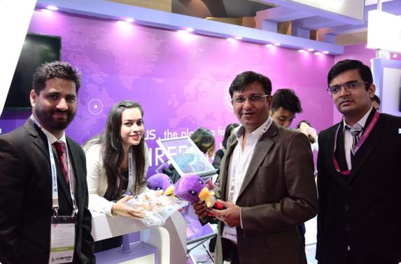 APUS代表中国互联网 亮相印度ad:tech展会