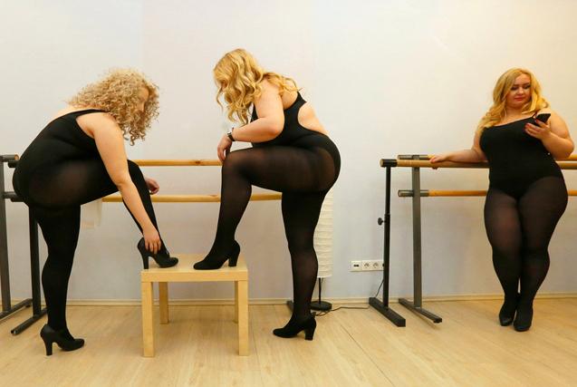 俄罗斯丰腴美人选美大赛 越胖越美