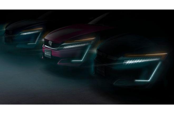 本田Clarity两款新车预告图发布 纽约车展首秀