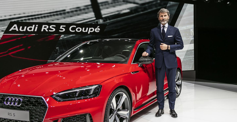 奥迪RS 5 Coupe亮相日内瓦车展 3.9秒破百