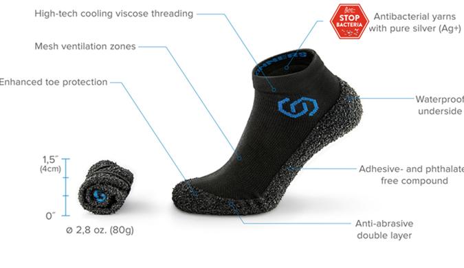 """捷克发明家研制全球首款""""坚不可摧""""袜子"""