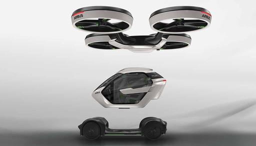 空客公布汽车-无人机 组合系统概念方案