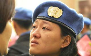 中国赴利比里亚维和警察凯旋