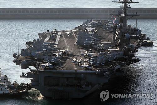 """韩美联合军演""""关键决断""""今启动 美国派最先进武器"""
