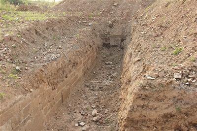 南京浦口600多岁明城墙发现沧波门瓮城遗址