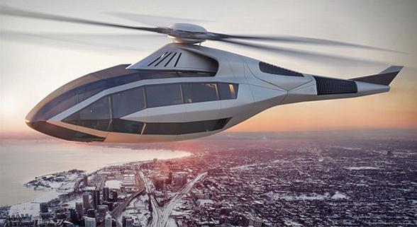 美国贝尔直升机公司推概念产品 螺旋桨可变性