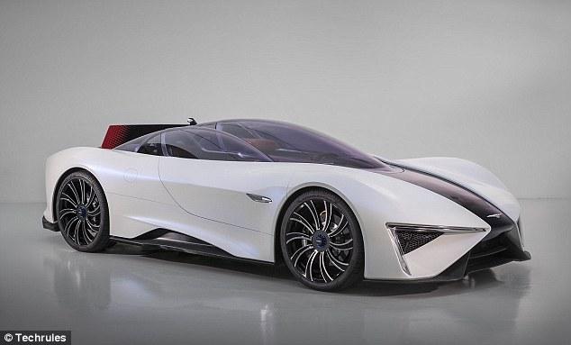 中国Techrules研发电动超跑  每辆售价1800万元