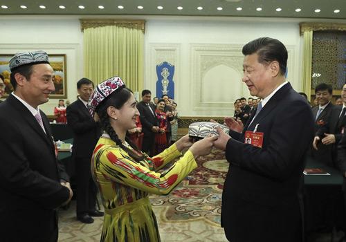 加强中华民族大团结,努力建设中国特色社会主义新疆