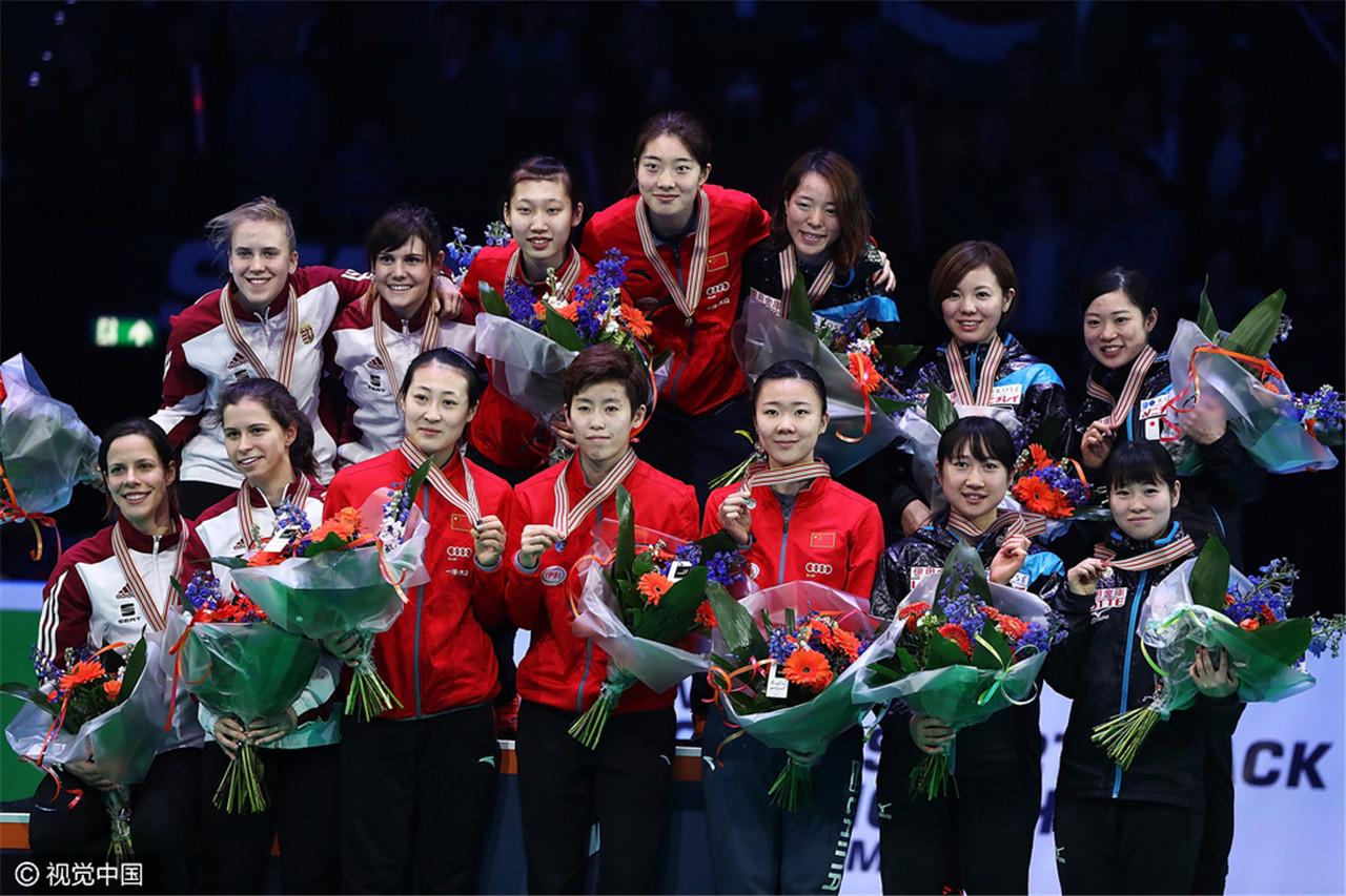 短道世锦赛中国女子接力夺冠