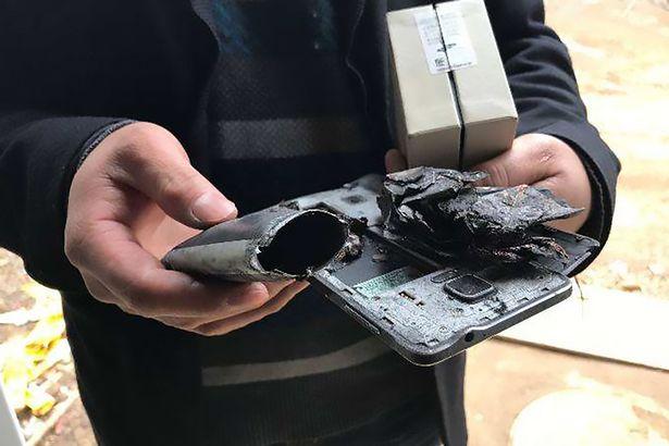 三星Note 4爆炸 中国四岁女孩睡梦中被烧伤