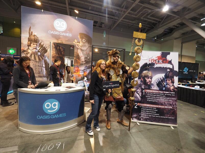 绿洲游戏携《虎豹骑》等三款大作亮相北美最大游戏展PAX EAST 2017