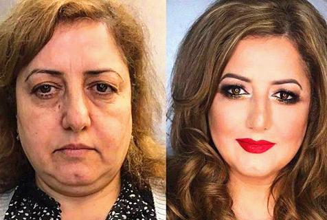 这就是化妆的魔力!