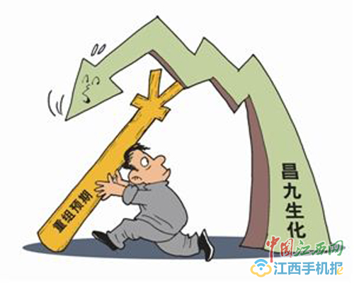 昌九生化被实施退市风险警示 股价却涨停