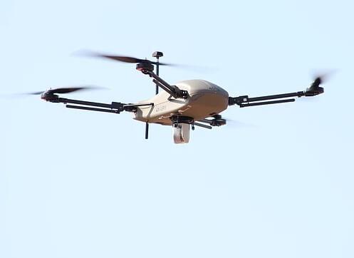 以色列推超航时四旋翼无人机 续航75分钟控制半径10公里