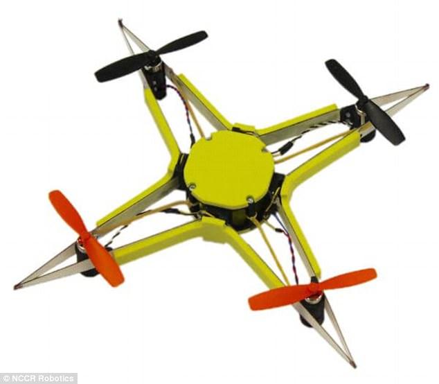 瑞士研发抗撞击无人机外部采用玻璃钢