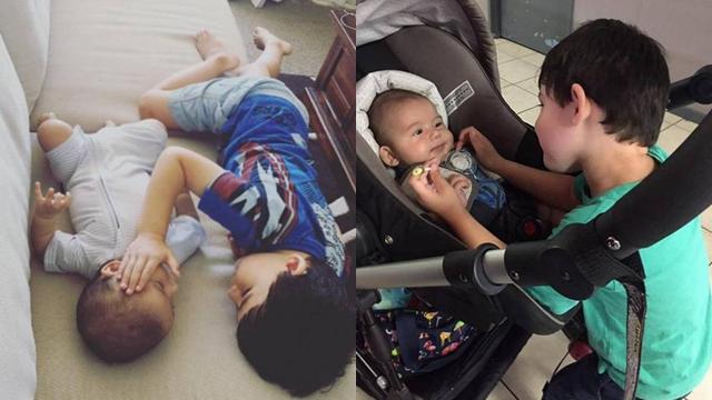 """三岁哥哥安慰患癌弟弟 """"别怕,哥哥陪你"""""""