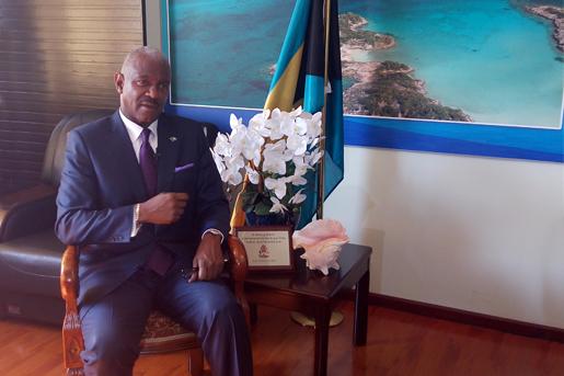 """巴哈马驻华大使:""""一带一路""""是推动中国经济发展的重要倡议"""