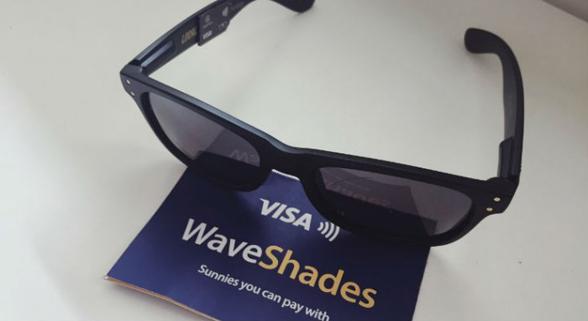 Visa推出可移动支付的太阳镜 度假再不用带钱包