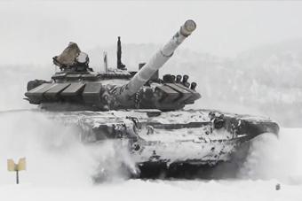 为了今年的坦克大赛 俄罗斯军队太拼了