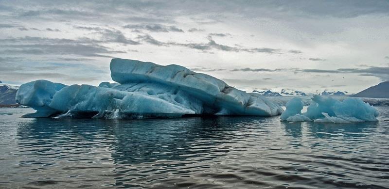 研究称北极海冰减少只有一半原因在于人为因素