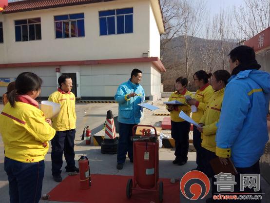 中石油泰安销售:考前培训小团队春风作伴送教忙